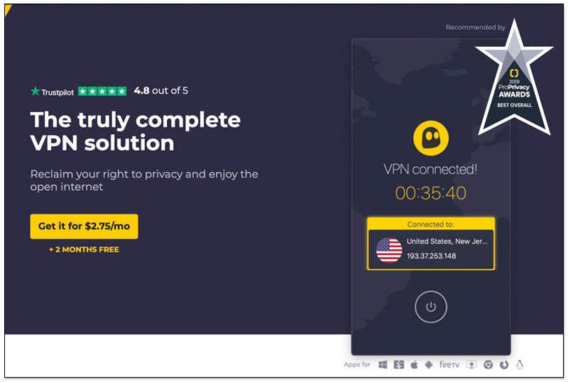 翻牆回国VPN