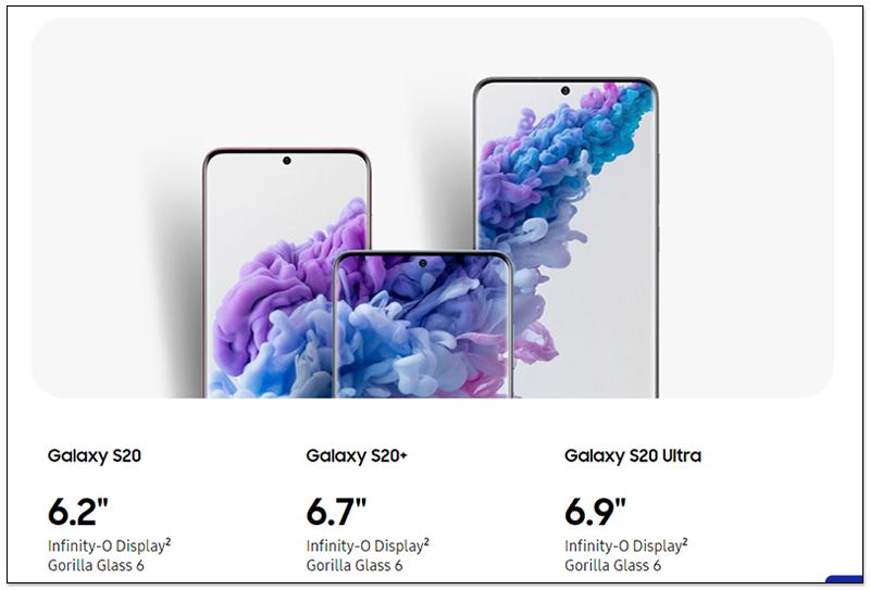 Galaxy S20手机套餐