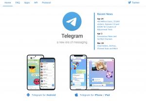 在中国使用Telegram