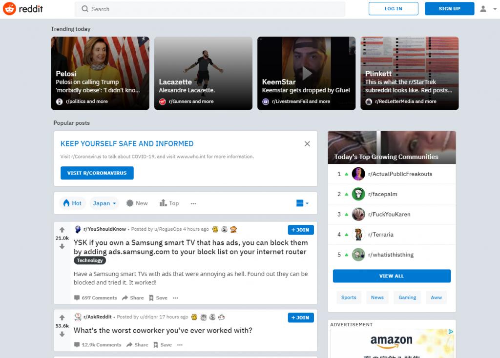 访问Reddit